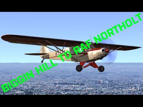 Drawyah plays Dovetail Flight School - Biggin Hill to RAF Northolt|Episode 1