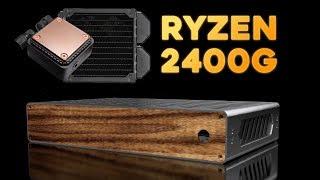 Brickless + Liquid-cooled + Ryzen 2400g + S4 MINI