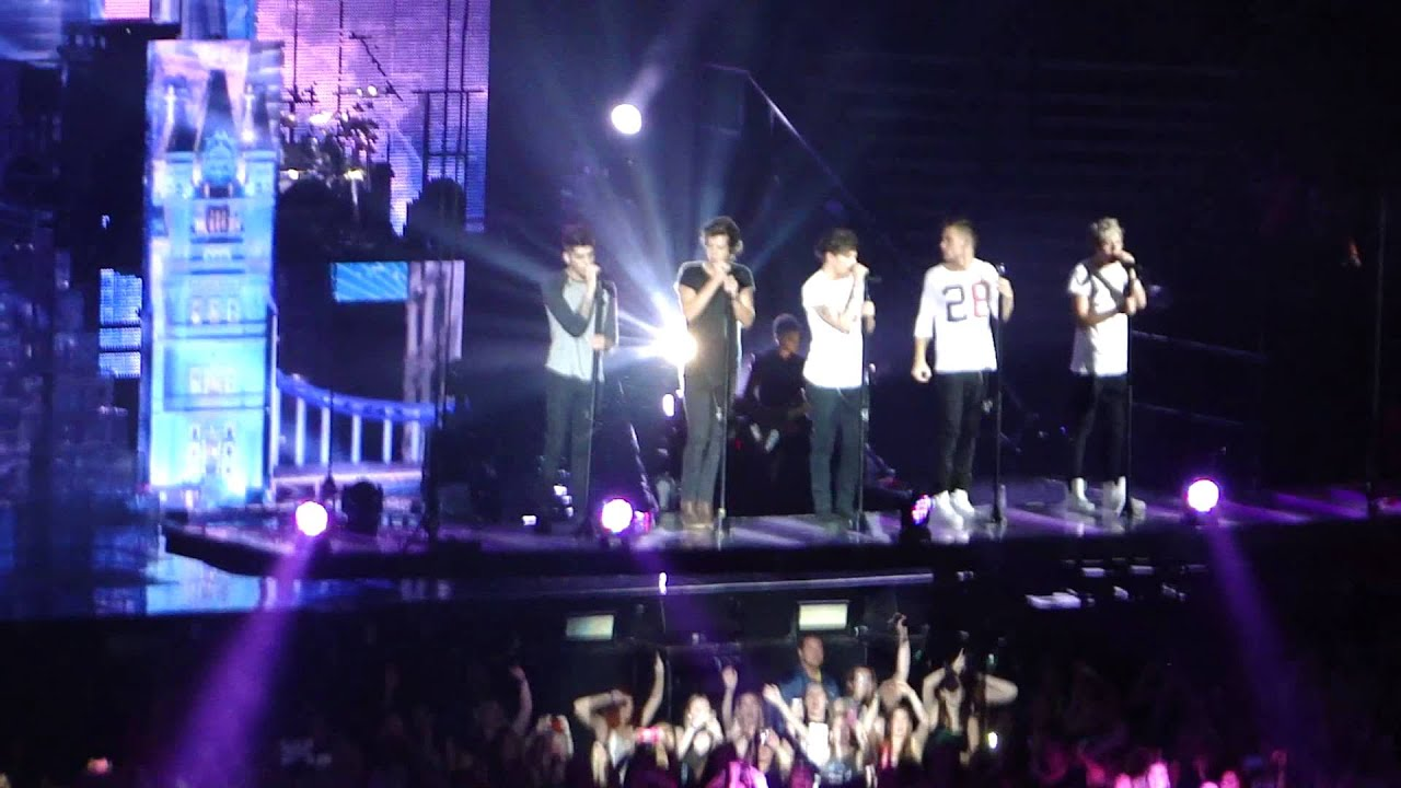 moments  one direction toronto july 10  take me home tour