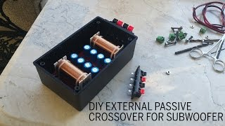 External Passive Crossover for Subwoofer