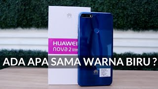 Warna Baru! Huawei Nova 2 Lite Blue Edition - Unboxing & Hands-on Review