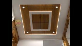 Wood Polish design on False Ceiling|AK DESIGNER|