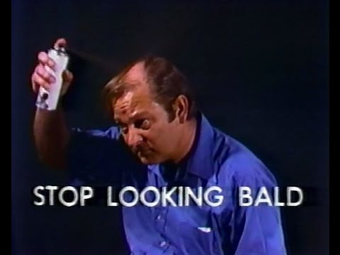"Top Coverage - ""Stop Looking Bald"" (Commercial, 1981)"