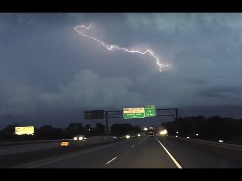 Extreme Electrical Storm North of St. Paul, Minnesota July 9, 2017 Time-Lapse