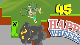 МЕСТЬ КРИПЕРА - Happy Wheels 45 (Карты Minecraft)