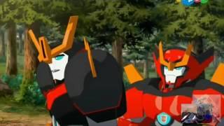 Трансформеры   Роботы под прикрытием приколы #1