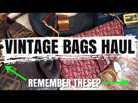 *HUGE* Luxury Vintage Bags HAUL - How To Find Iconic Designer Styles At The Best Prices!