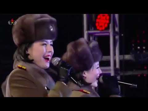 North Korea's Superstar Moranbong Band Performs On New Year's Eve 2019