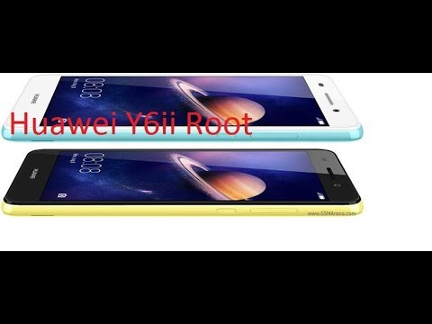 How to Root Huawei Y6 II or any Huawei 2018 by abiralprayas
