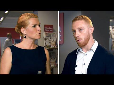 Debat mellem Inger Støjberg (Venstre) og Junes Kock (Hizb ut-Tahrir Skandinavien)