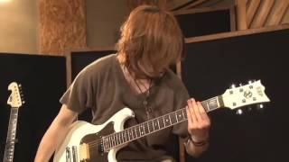 UNDIVIDE leda MINDS UP Guitar demonstration