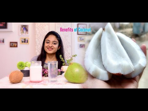 Health Benefits of Coconut | How to make coconut milk at home | Hungry Vacations thumbnail
