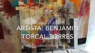 Benjamín Torcal Torres  exposición 'Diario de un loco'; música  Ernest Perera Garcia