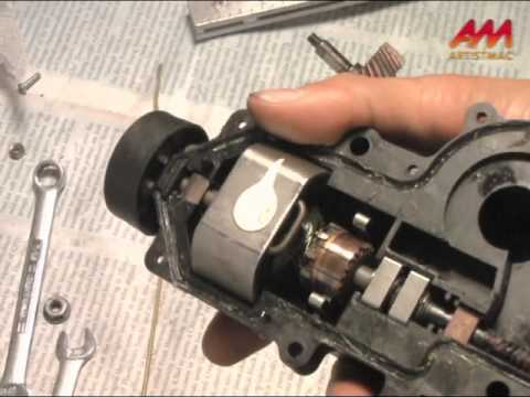 Pontiac Fiero Gen 1 Headlight Motor Repair A Partial