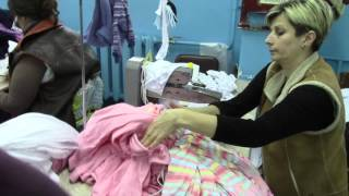 Как делают носки, колготки в Житомире