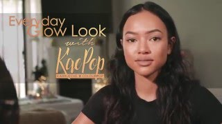 This tutorial is for my Everyday Glow look using makeup from KaePop...