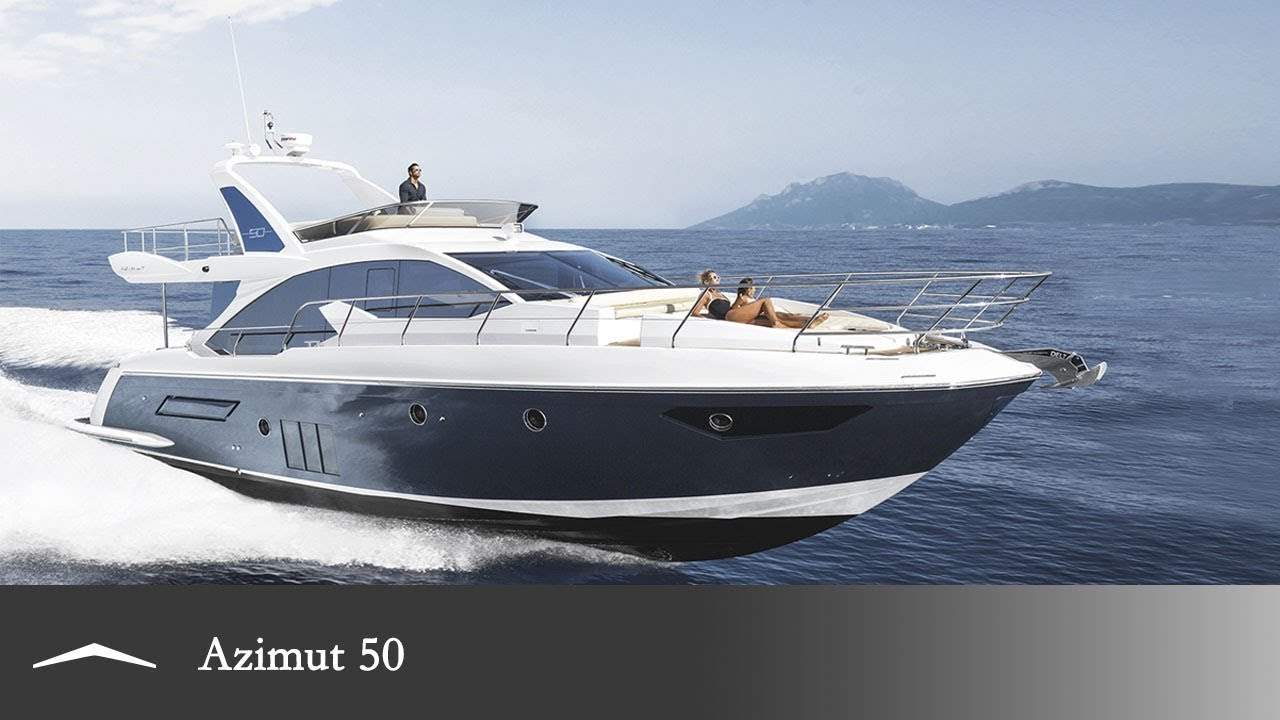 Azimut 50 Reinventing The Luxury Yacht YouTube