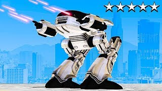 PLAYING GTA 5 AS A POWERFUL ROBOT! (GTA 5 Mods)