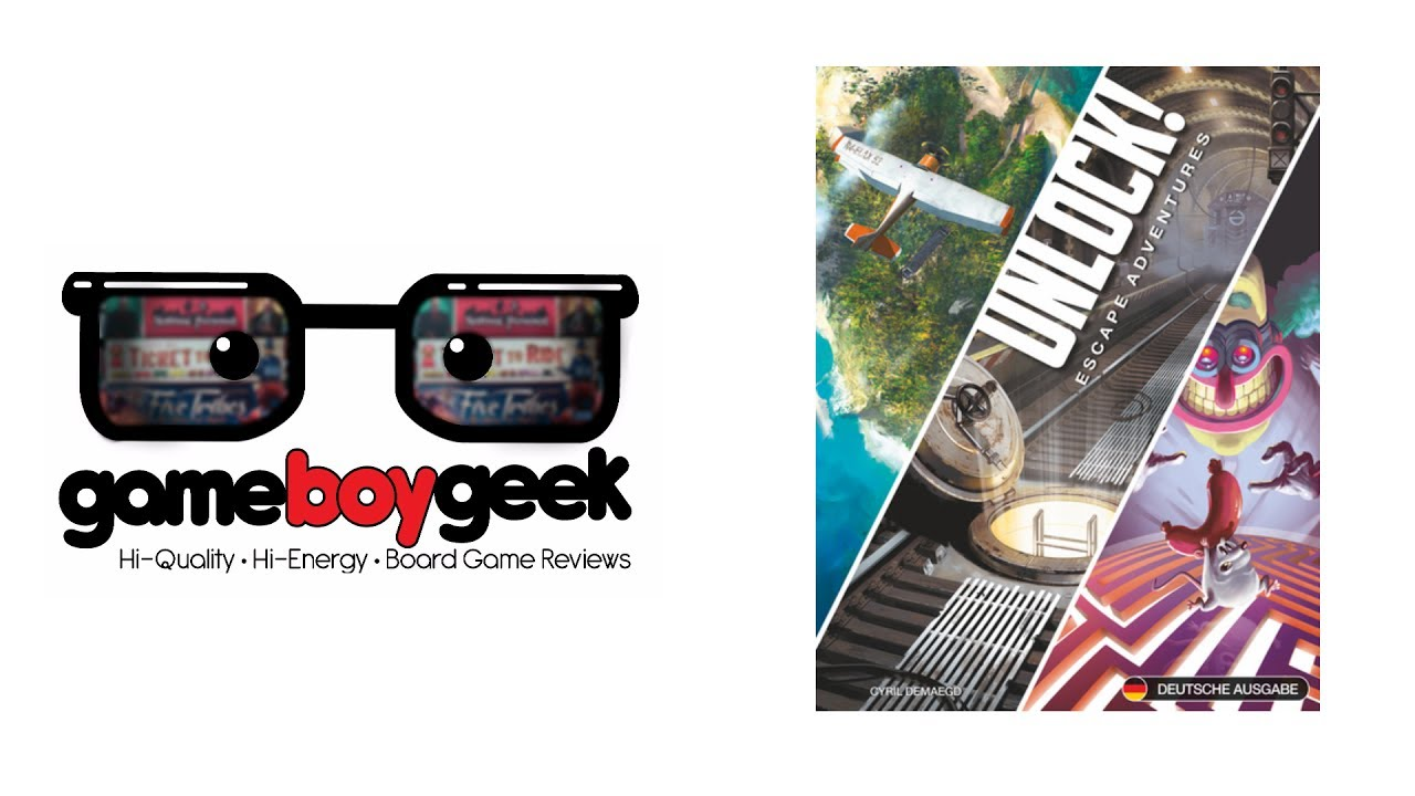 Unlock! Review with the Game Boy Geek