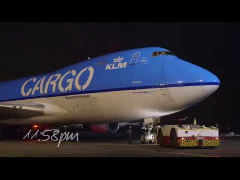 Air France KLM Cargo transportation of flowers from Kenya