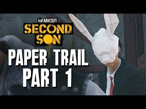 inFamous Second Son Paper Trail Part 1 - Guide / Walkthrough  - Origami Dove, Tracker Drone