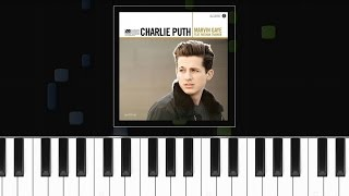 """Charlie Puth - """"Marvin Gaye"""" ft Meghan Trainor Piano Tutorial - Chords - How To Play - Cover"""