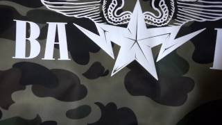a bathing ape bape 1st camo green lightweight ma 1 bomber jacket unboxing review
