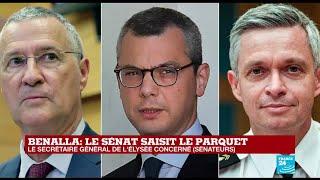 Affaire Benalla: le Sénat saisit le parquet contre des proches de Macron