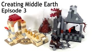 Creating LEGO Middle Earth Episode 3: First Rough Sketches!