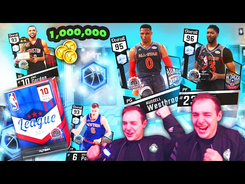 NBA 2K17 My Team 1 MILLION VC PACK OPENING! WE PULLED A LIMITED ALL STAR DIAMOND MOMENTS PULL! OMG!