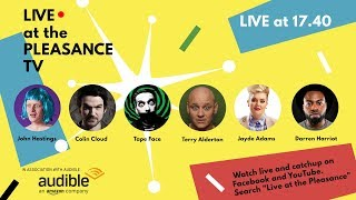 Live at the Pleasance 2017: Ep. 1 with John Hastings
