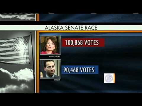 Murkowski Beats Miller; Palin Beats Obama?