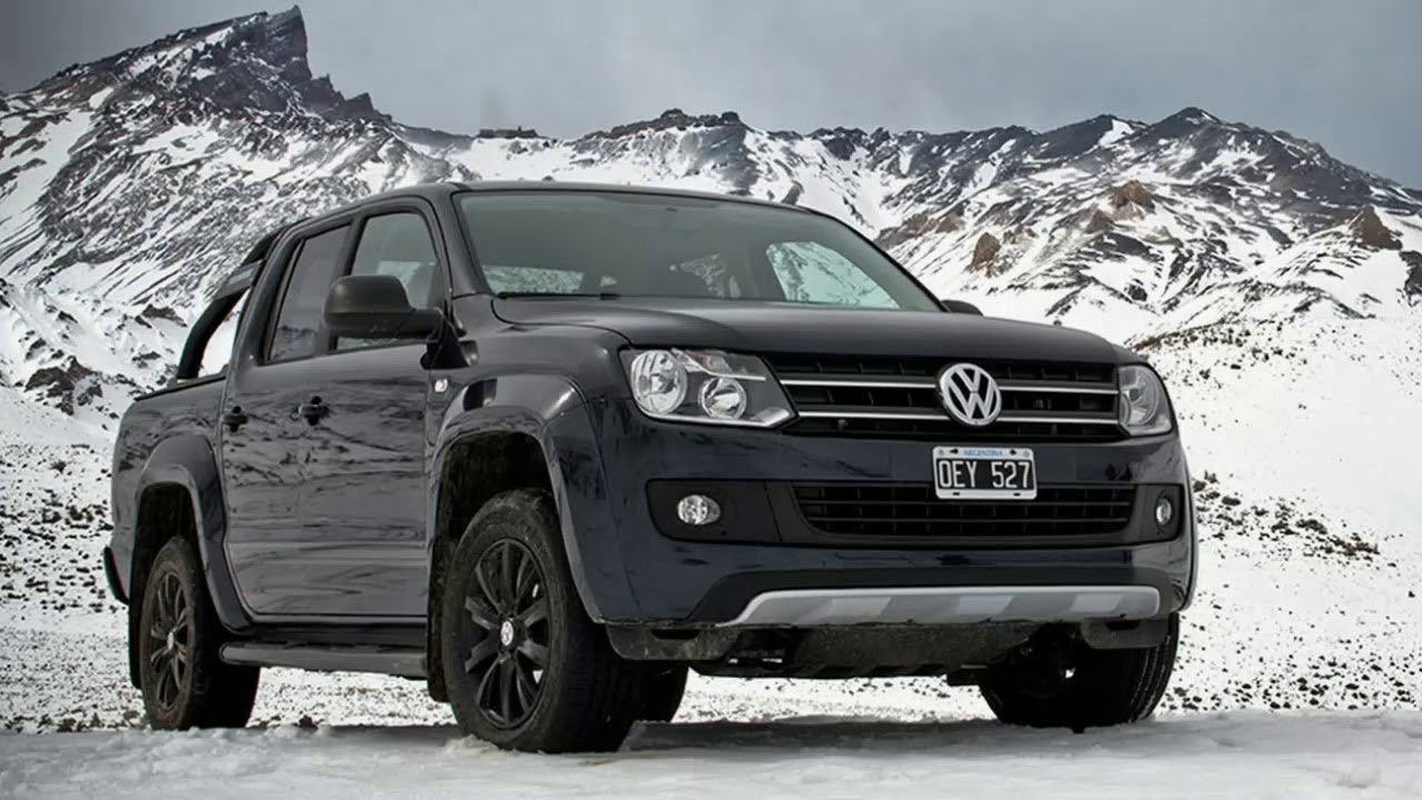 WOW !!! VW Welcomes New Amarok Limited Edition To The Dark Label Side