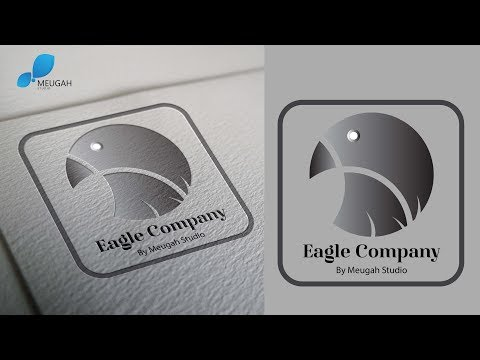 How to Design a Simple Logo with Golden Ratio | Adobe Illustrator Tutorial | Eagle Company thumbnail