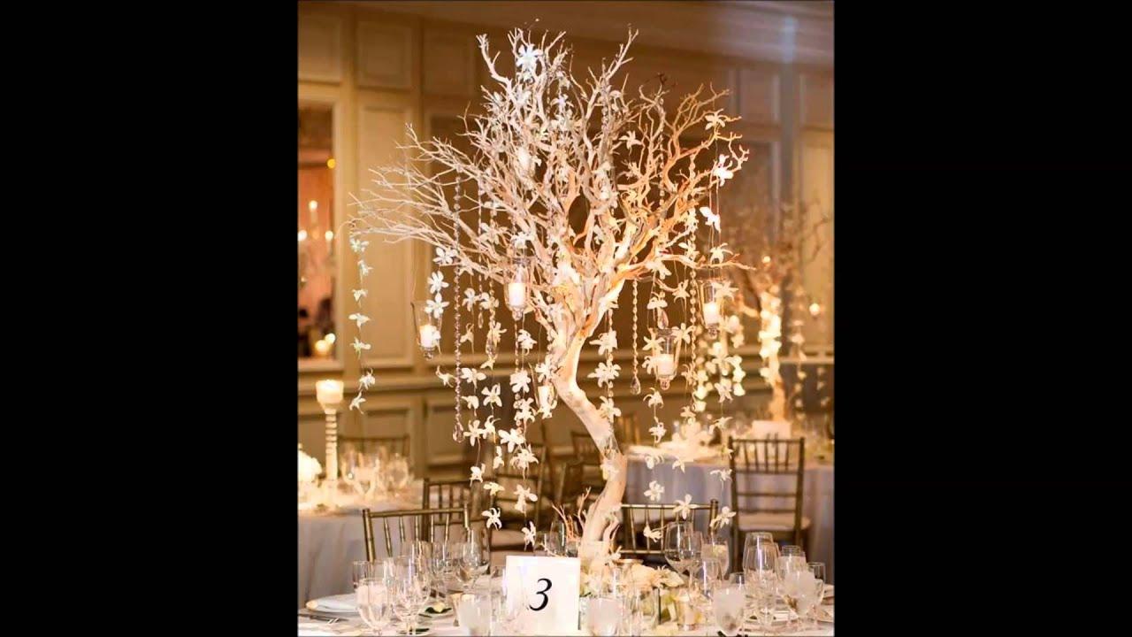 Arreglos florales centros de mesa decoraci n de for Adornos d mesa para boda