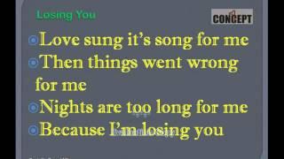 LOSING YOU ~ Brenda Lee