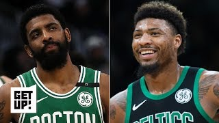 'That's not true'- Russillo is not buying Marcus Smart's defense of Kyrie Irving | Get Up!