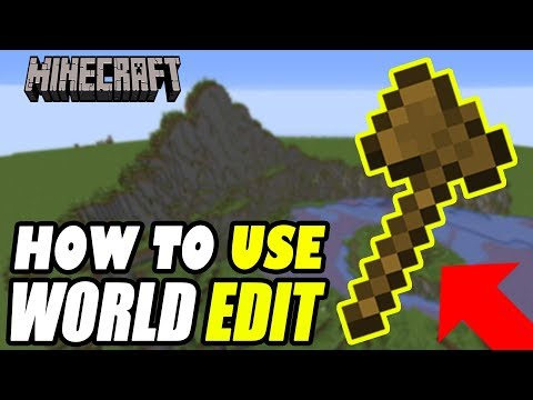 Minecraft How To Use World Edit Commands (Building Basics Tutorial)