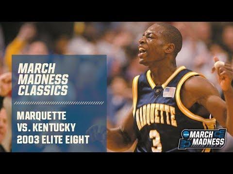 Marquette vs. Kentucky: 2003 Elite Eight   FULL GAME