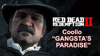 "Red Dead Redemption 2 Coolio ""Gangsta's Paradise"" Music Video"