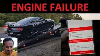 2018 Mustang GT Engine Failure