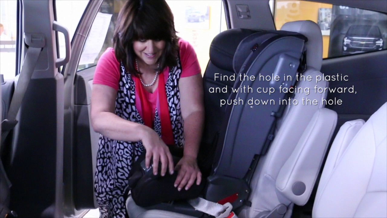 Diono Radian 5 cup holders - YouTube