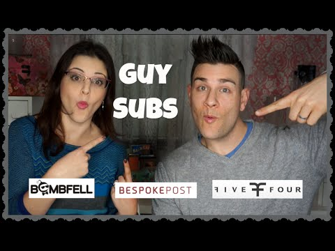 Guy Subs Review! Bombfell, Five Four Club, Bespokepost - Jen Luv's Reviews
