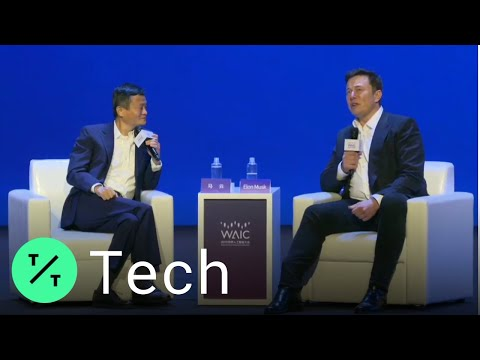 Elon Musk and Jack Ma on the Difference Between Humans and Computers