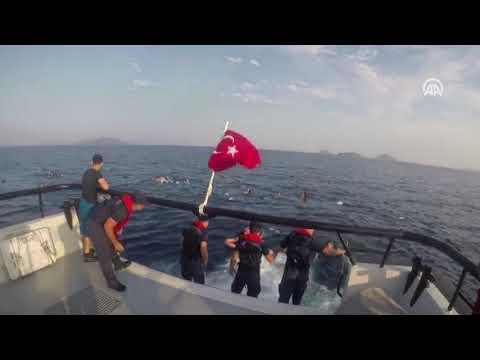 У берегов Турции спасают мигрантов с затонувшего судна
