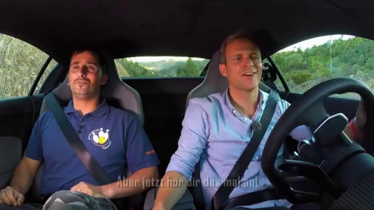 Onboard-Soundcheck im Audi R8 V10 plus - GRIP - Folge 328 - RTL2