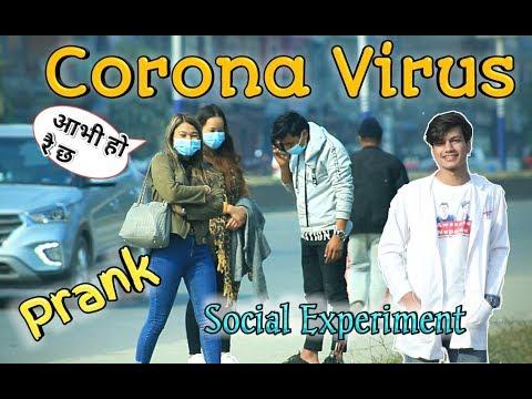 Nepali Prank-corona Virus Prank(social Experiment)awesome Nepalese