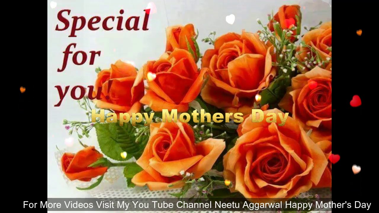 Happy Mothers Dayflowers For Youwishesgreetingssmssayings