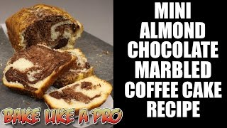 Mini Almond Chocolate Marbled Coffee Cake Recipe
