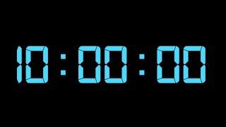 10 Saatlik Video Geri Sayım / Ten Hour Countdown Timer